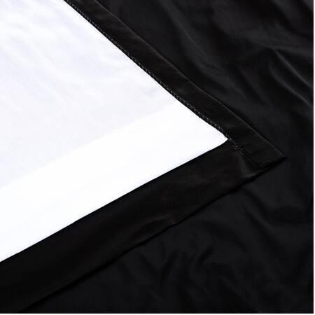 Midnight Black Thai Silk Fabric