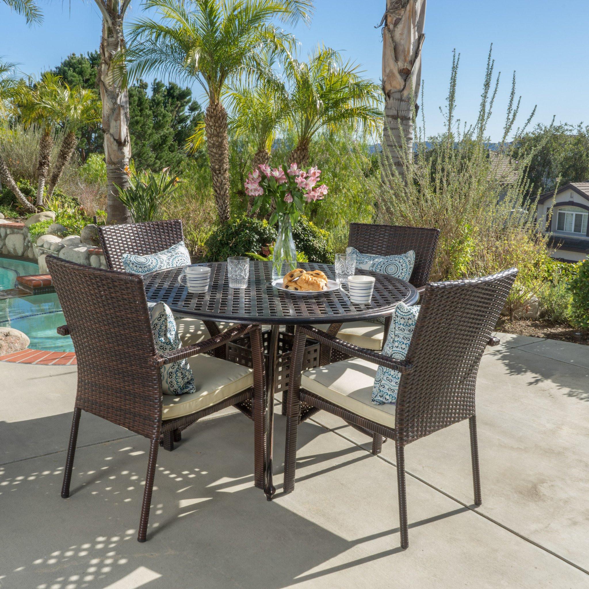 Glenwood 5pc Outdoor Dining Set
