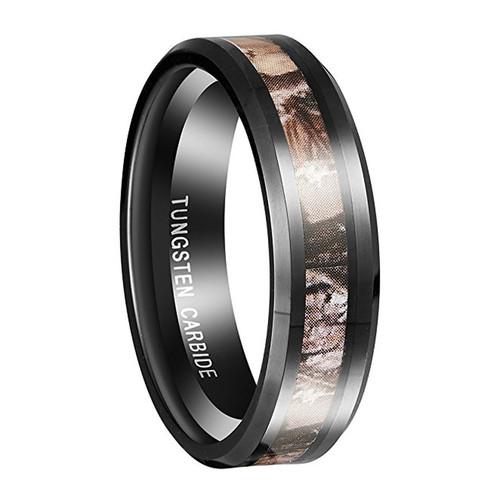 6mm - Unisex, Women's Tungsten Wedding Band. B...