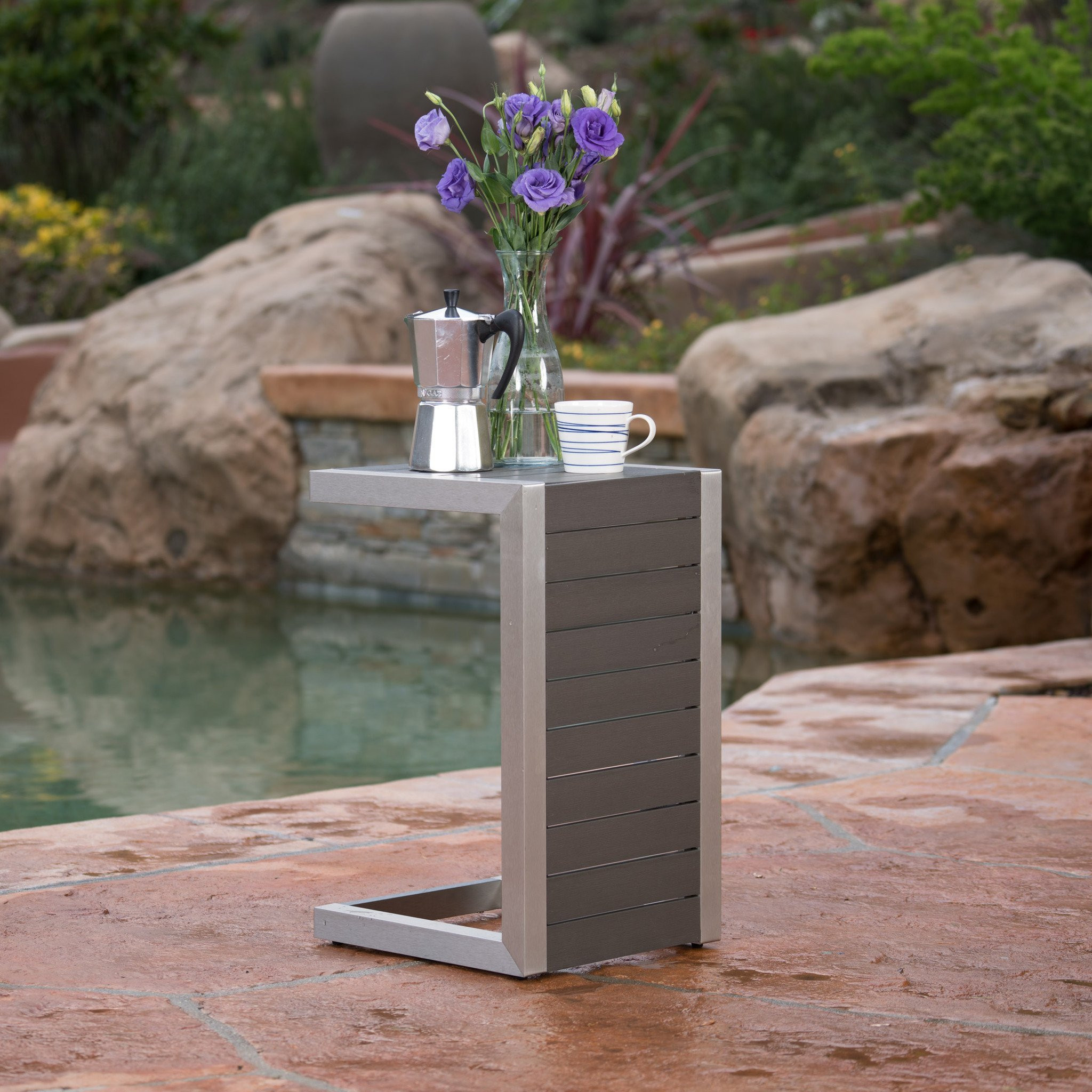 Crested Bay Outdoor Side Table