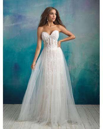 Allure Bridal 9523 | Essense Of Australia | Flares...