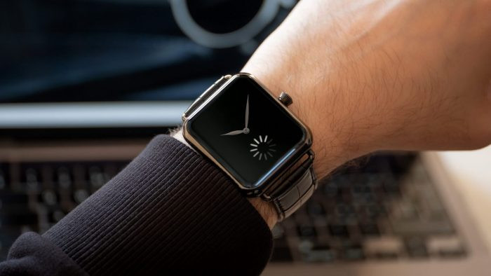 Swiss Alp smartwatch