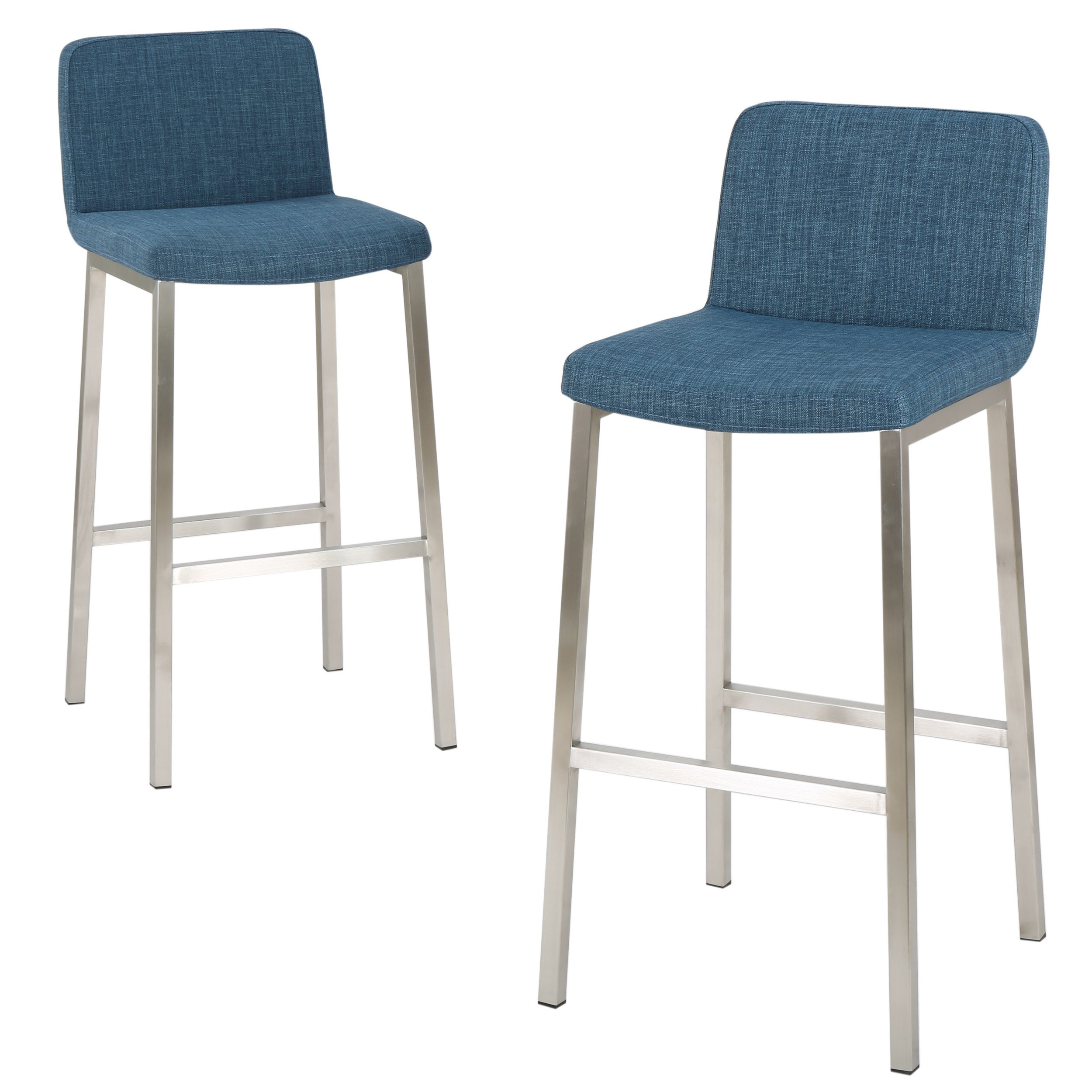 Denise Austin Home Fantasia Fabric Barstool (Set o...