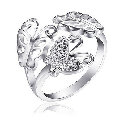Butterfly Ring - Adjustable - One Size Fits All (....