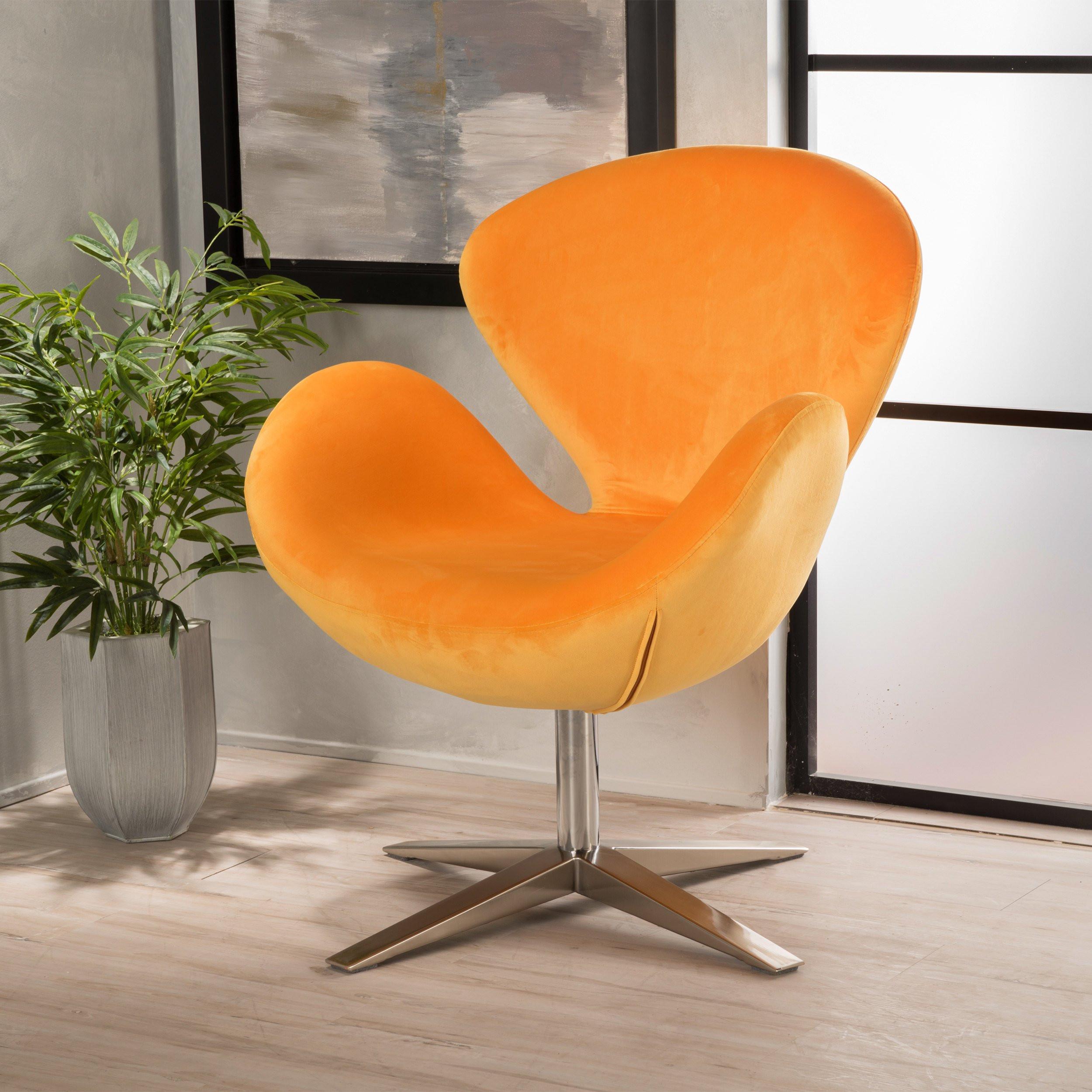 Manhattan Mid Century Modern Swan Chair