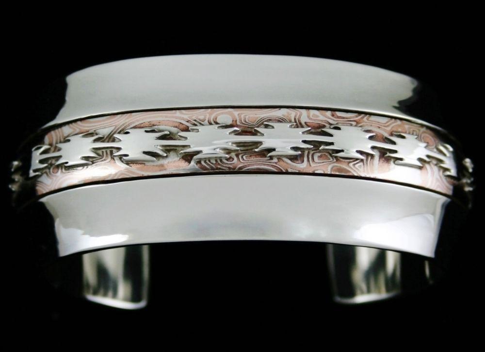 Alfred Joe Mokume Gane Bracelet Price: $1,495.00