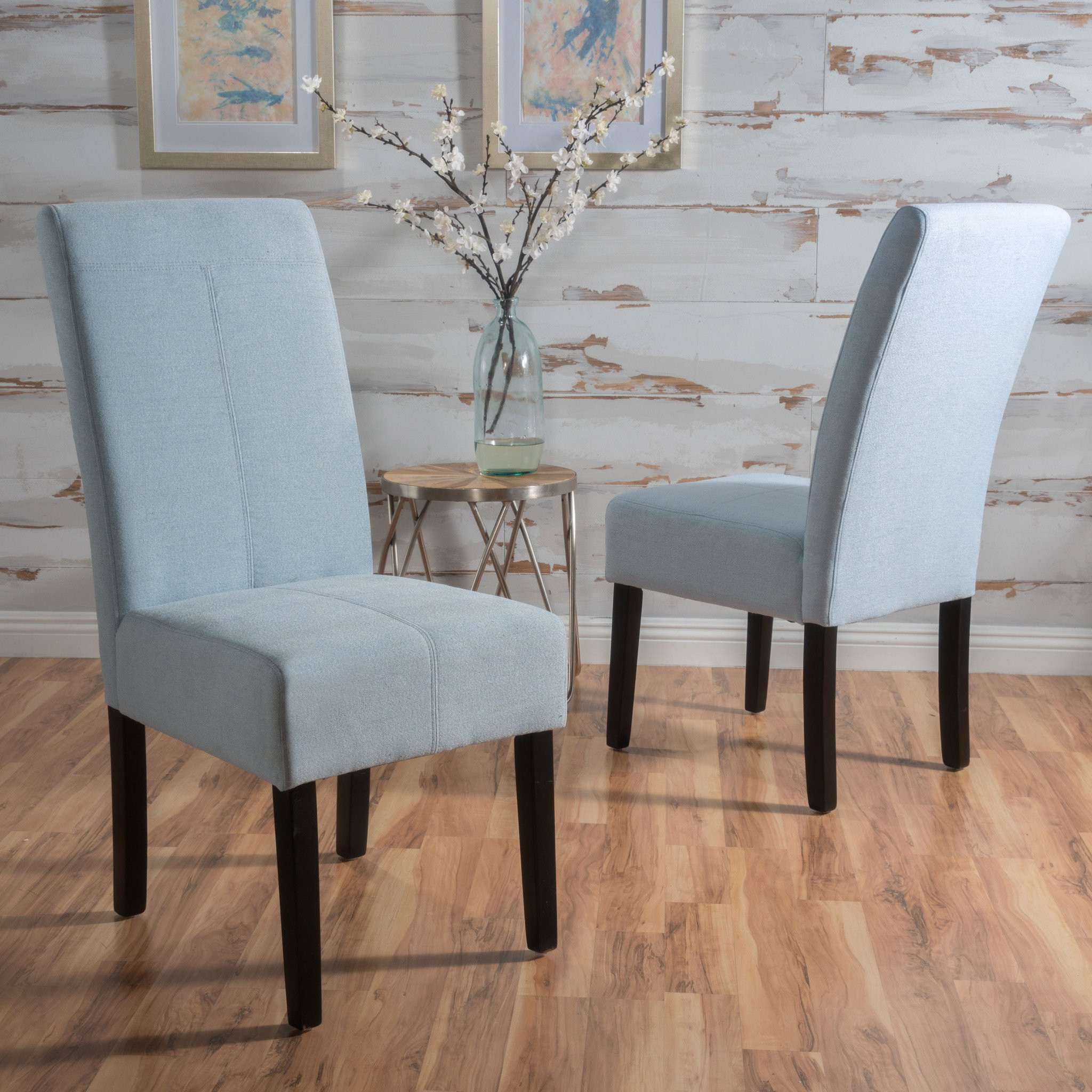 Percival T-Stitch Dining Chair (Set of 2)